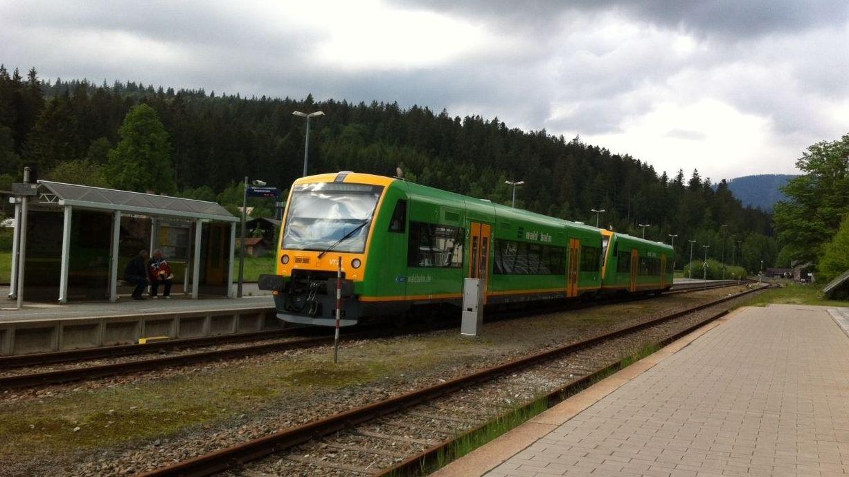 Symbolbild Waldbahn