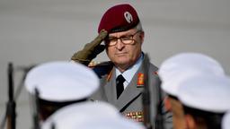 Eberhard Zorn, Generalinspekteur der Bundeswehr | Bild:pa/dpa/Britta Pedersen