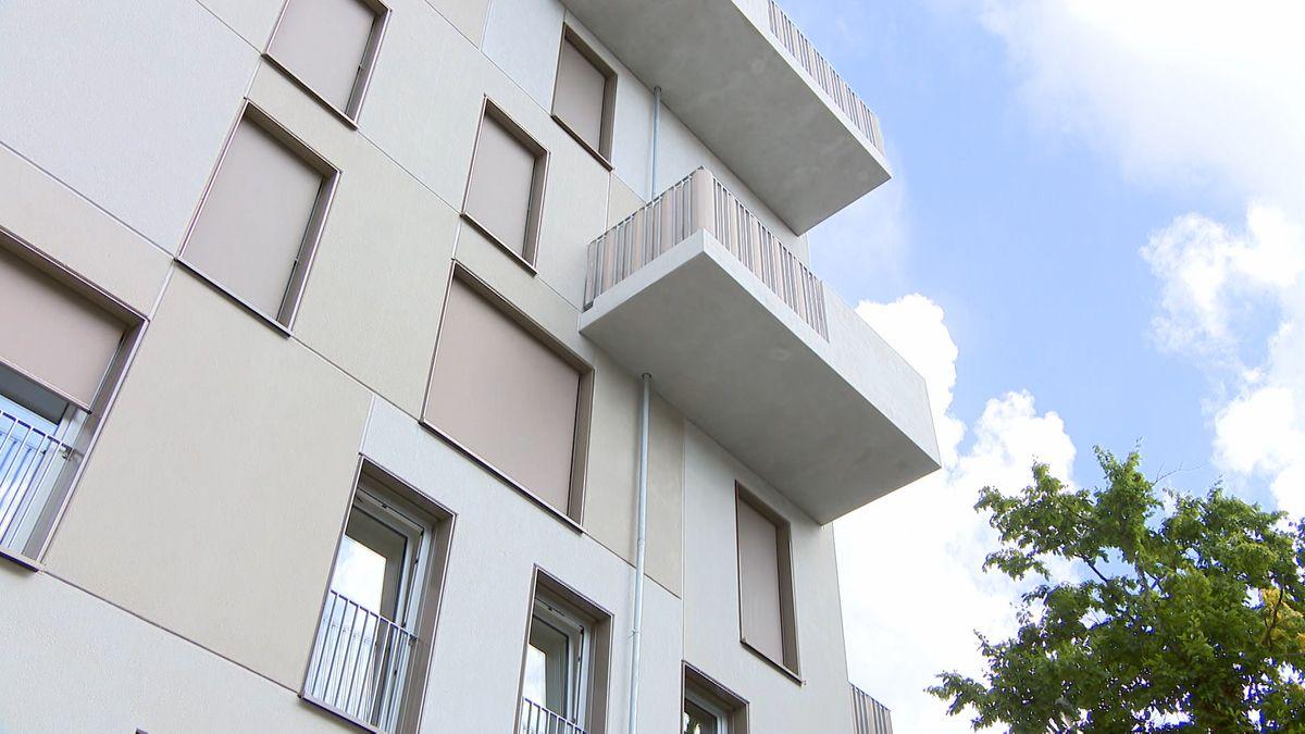 Eines der neu errichteten Gebäude in Nürnberg-Langwasser