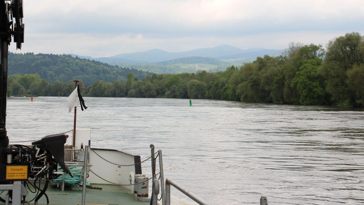 Die niederbayerische Donau zwischen Straubing und Vilshofen