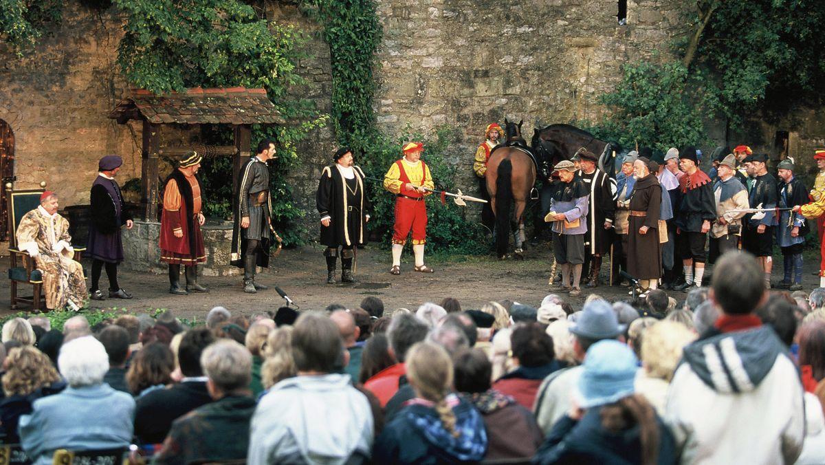 Florian-Geyer-Festspiele in Giebelstadt