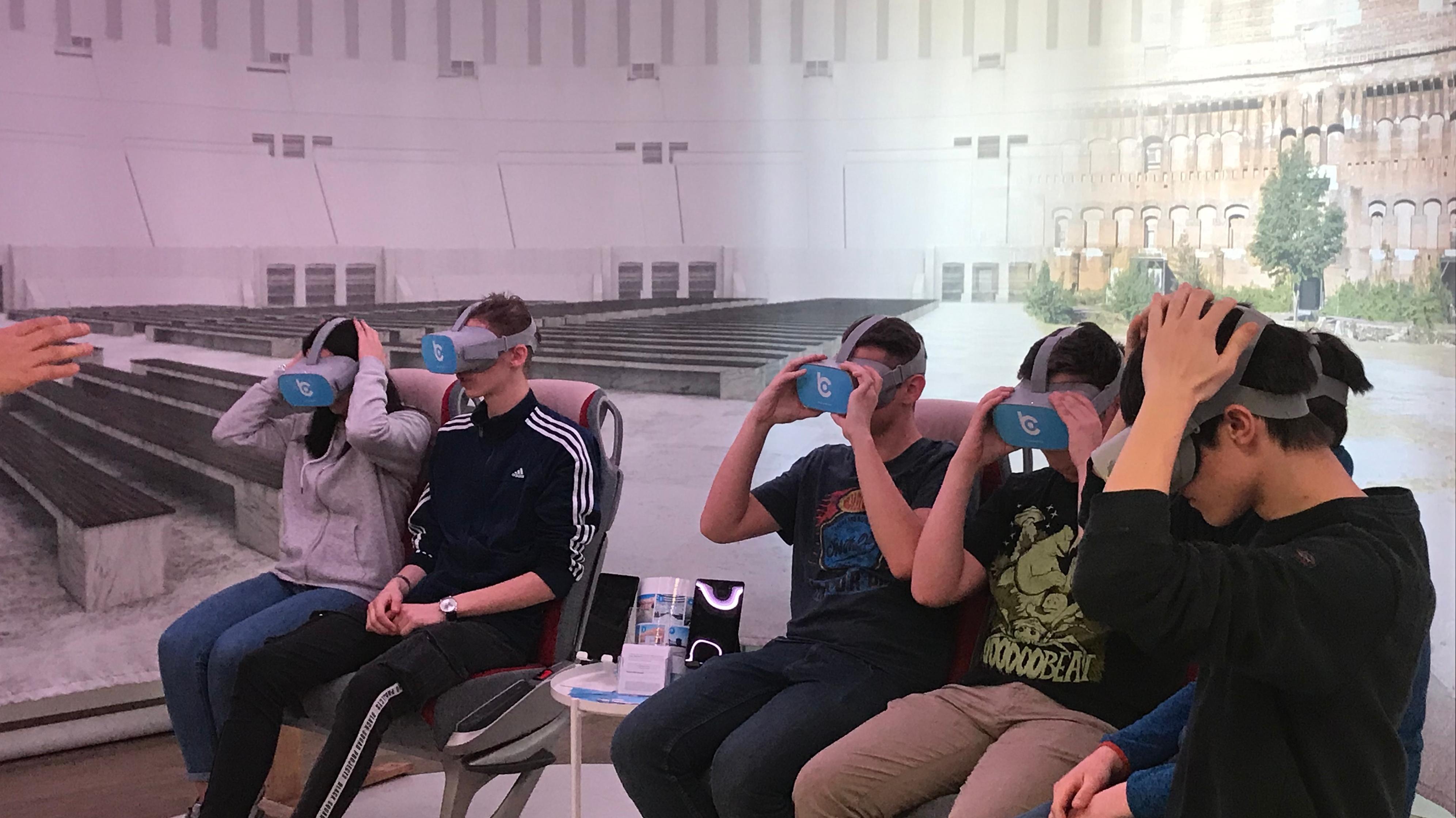 Ehemaliges Reichsparteitagsgelände in Nürnberg: Mit Virtual-Reality-Brillen sollen Besucher die Geschichte auf ganz neue Art wahrnehmen können.