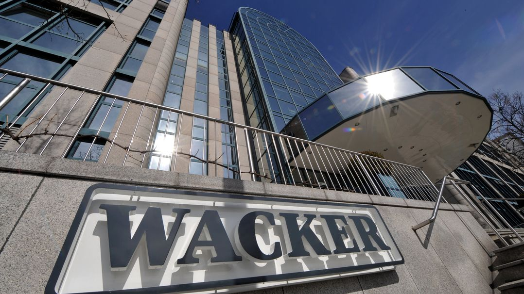 Der Hauptsitz der Wacker-Chemie in München Perlach