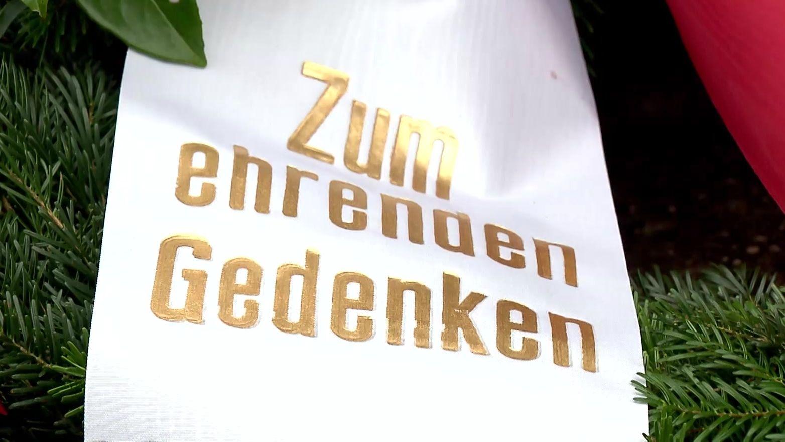 Am Volkstrauertag hat die Stadt Nürnberg der Gefallenen aus zwei Weltkriegen gedacht.
