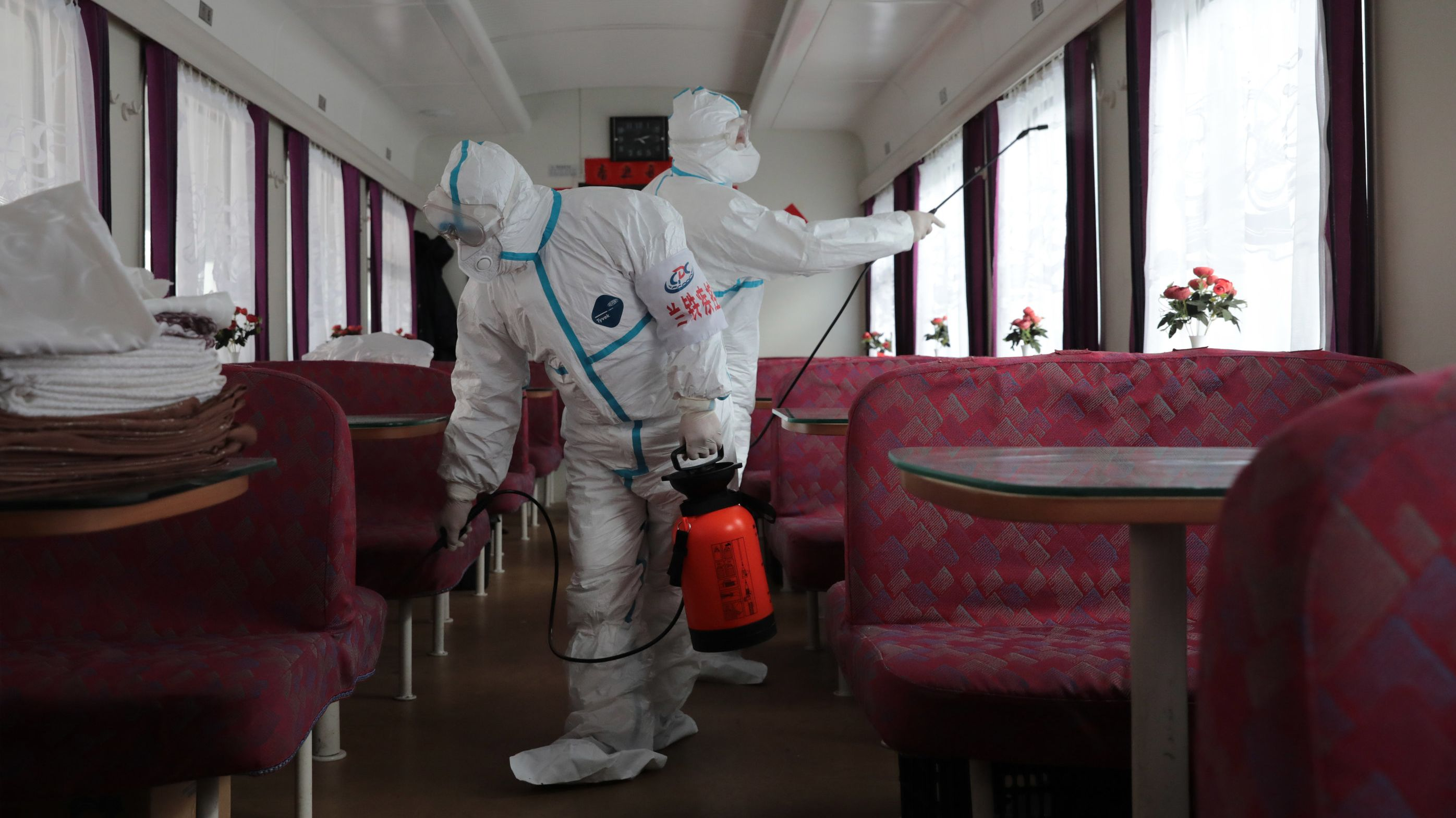 Maßnahmen gegen das Virus in China