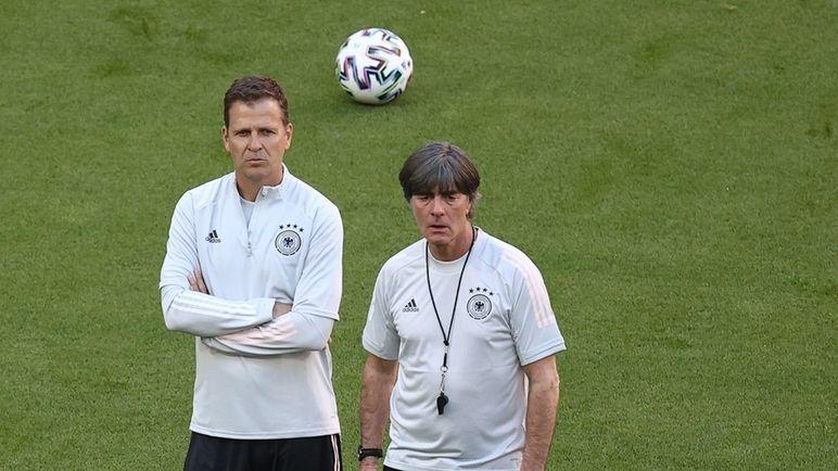 Fußball: EM, Gruppe F, vor dem Spiel Frankreich - Deutschland