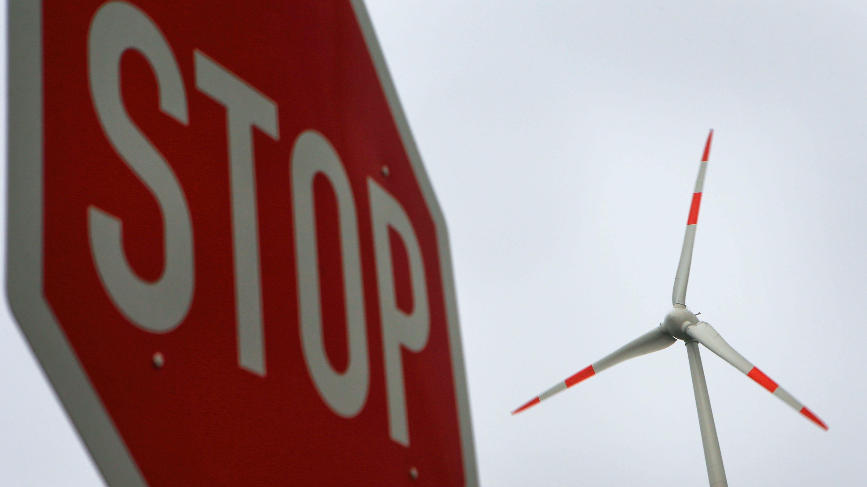 Symbolbild Windkraft-Stop