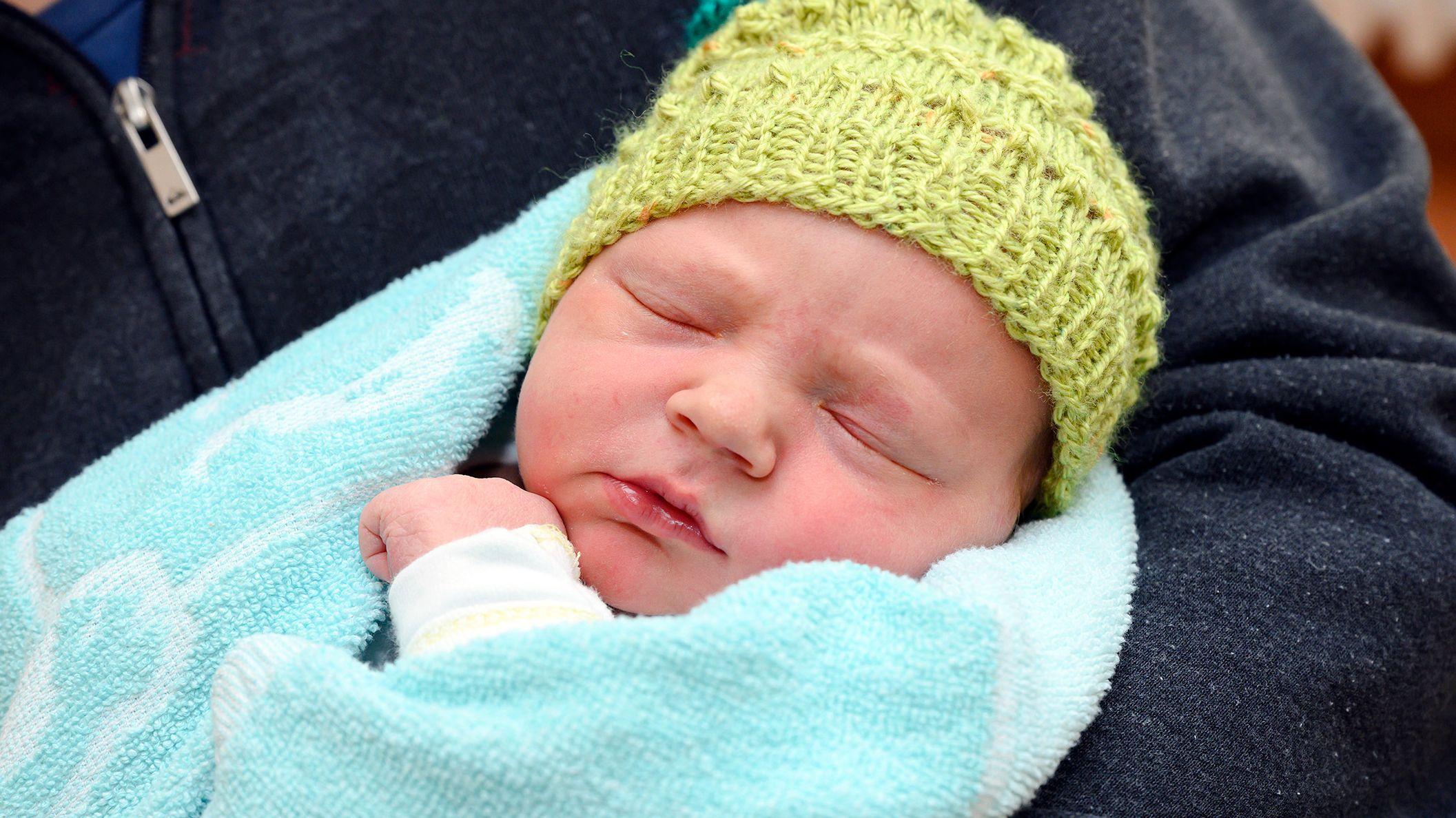 Neujahrsbaby Jonathan