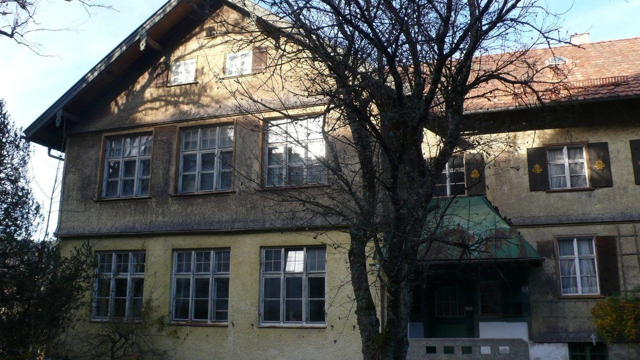 Das alte Schulhaus in Immenstadt-Bühl