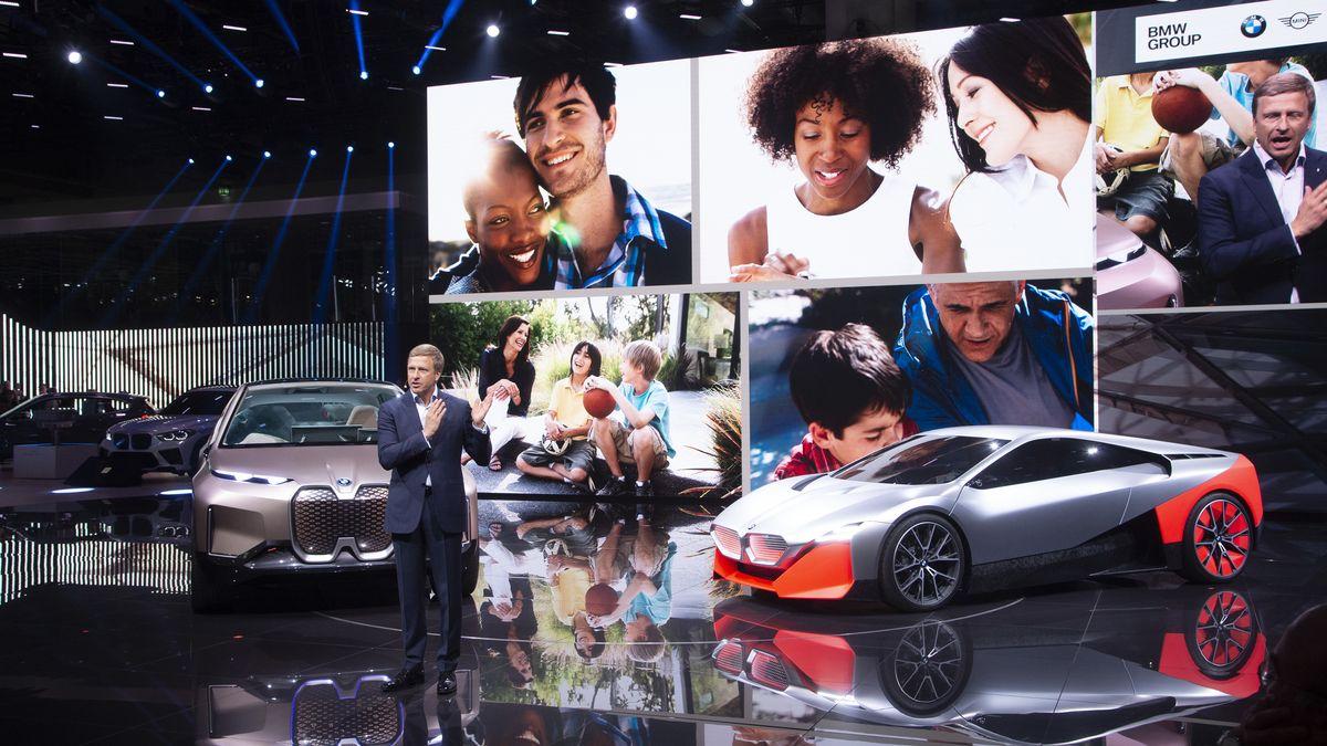 BMW-Chef Oliver Zipse auf der IAA 2019.