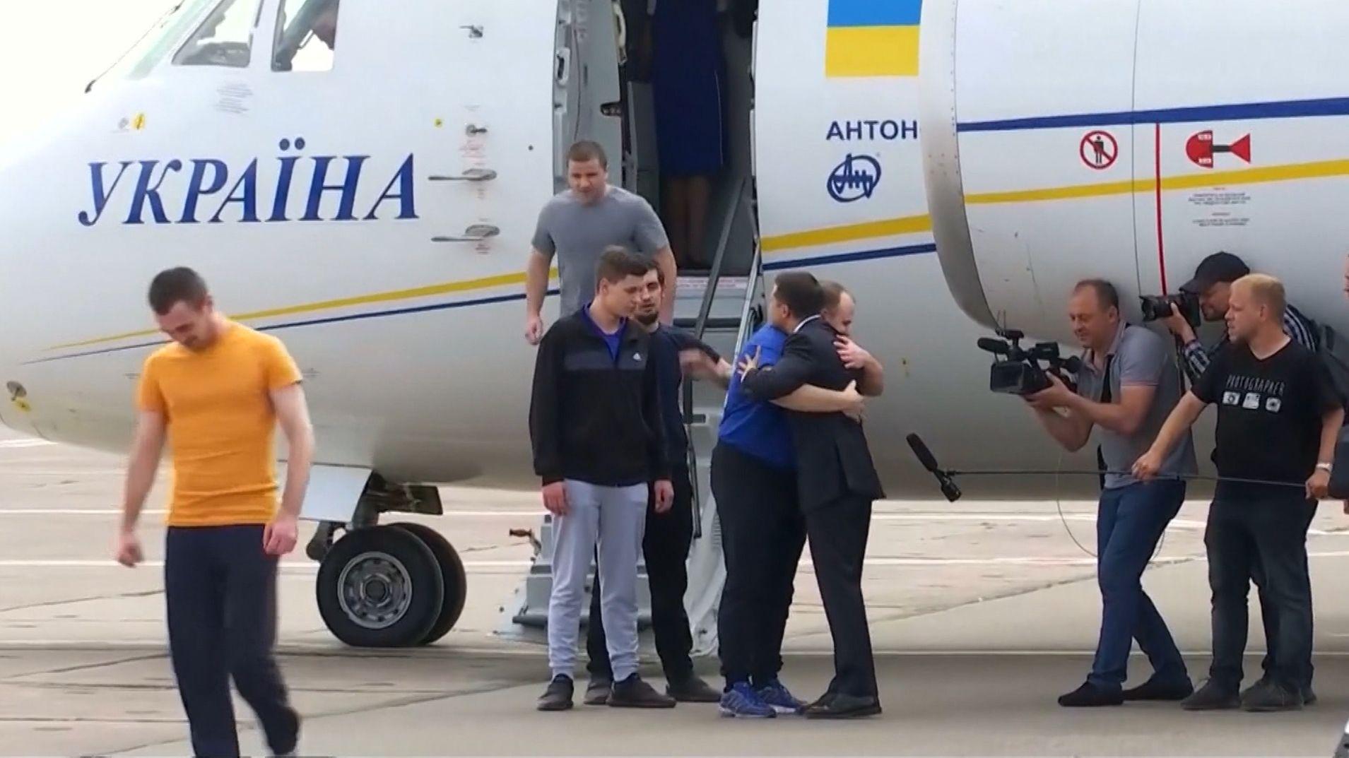 Gefangenenaustausch zwischen Russland und der Ukraine