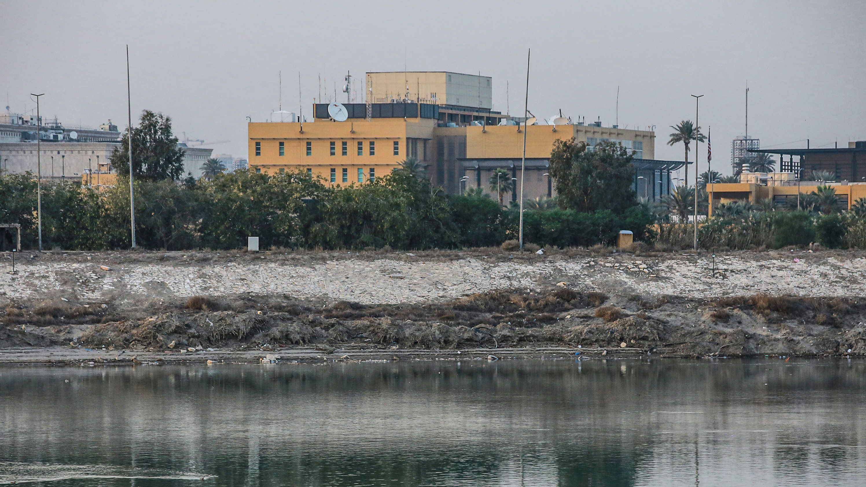 US-Botschaft in Bagdad.