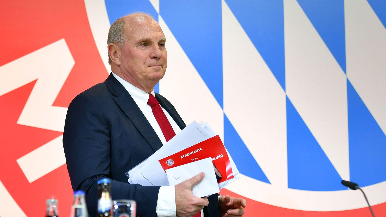 Uli Hoeneß bei der vergangenen FC-Bayern-Hauptversammlung