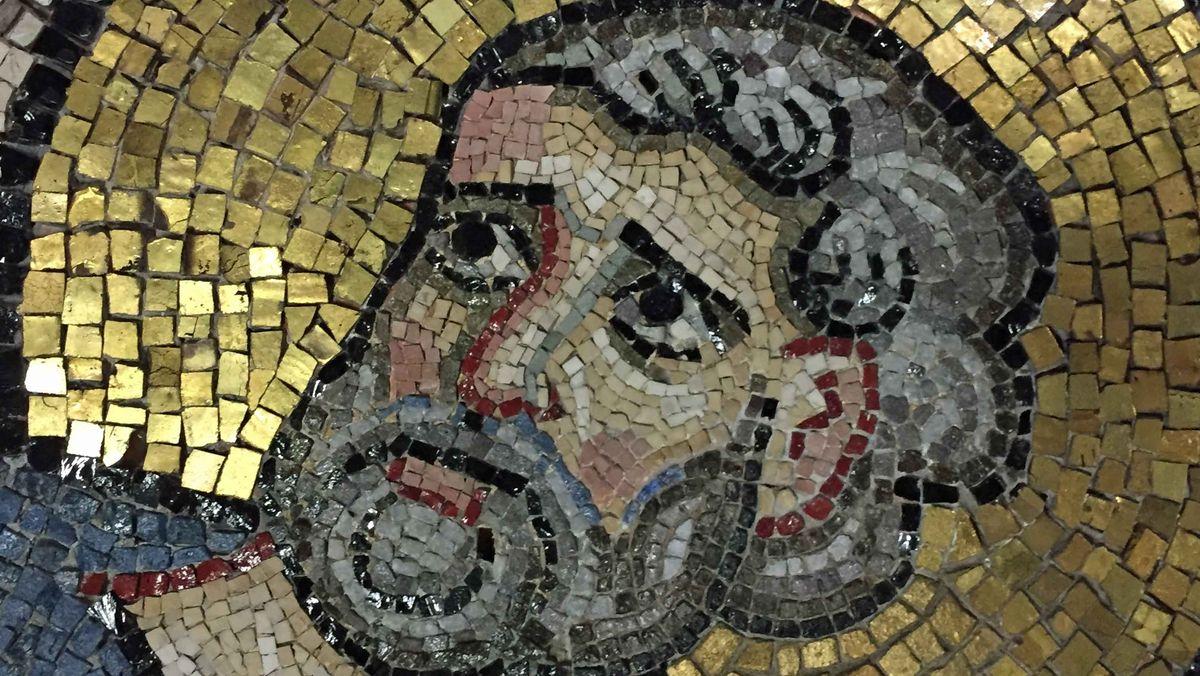2000 Quadratmeter waren die Mosaike groß, als sie Mitte des 12. Jahrhunderts geschaffen wurden.