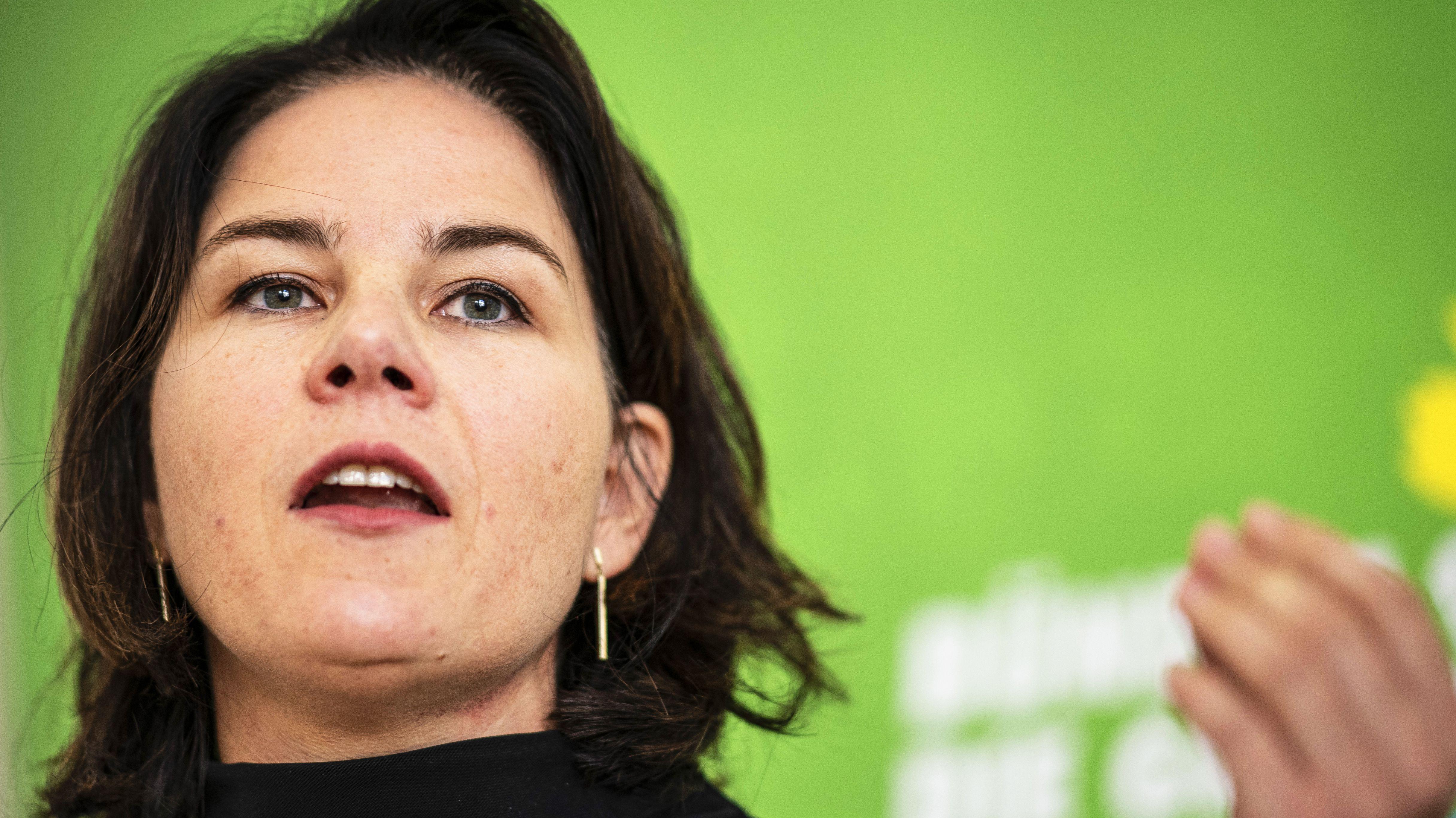 Grünen-Bundesvorsitzende Annalena Baerbock