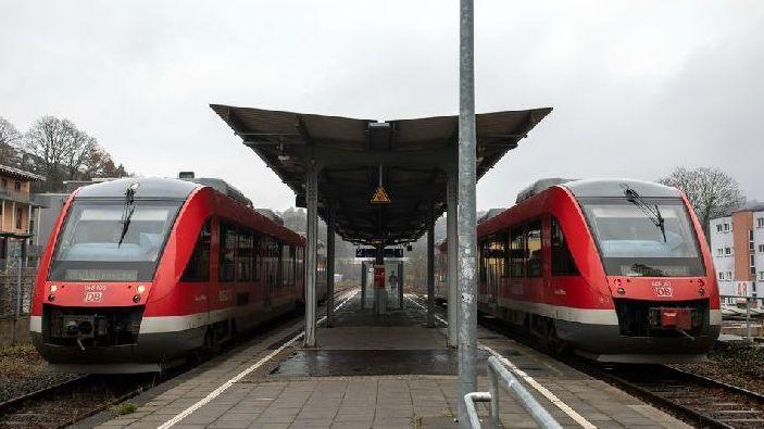 Züge der Deutschen Bahn