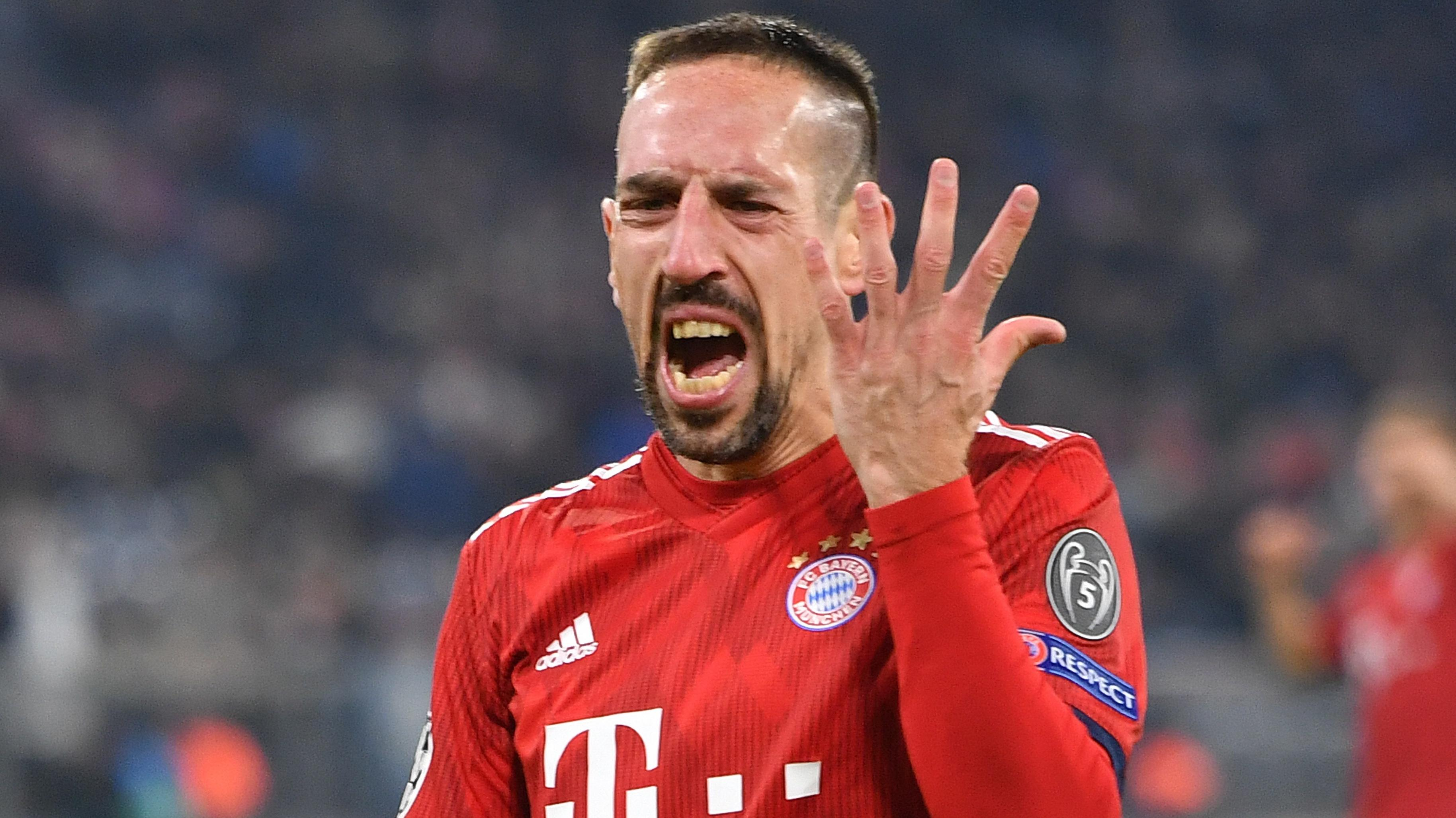 Bayern-Spieler Franck Ribéry