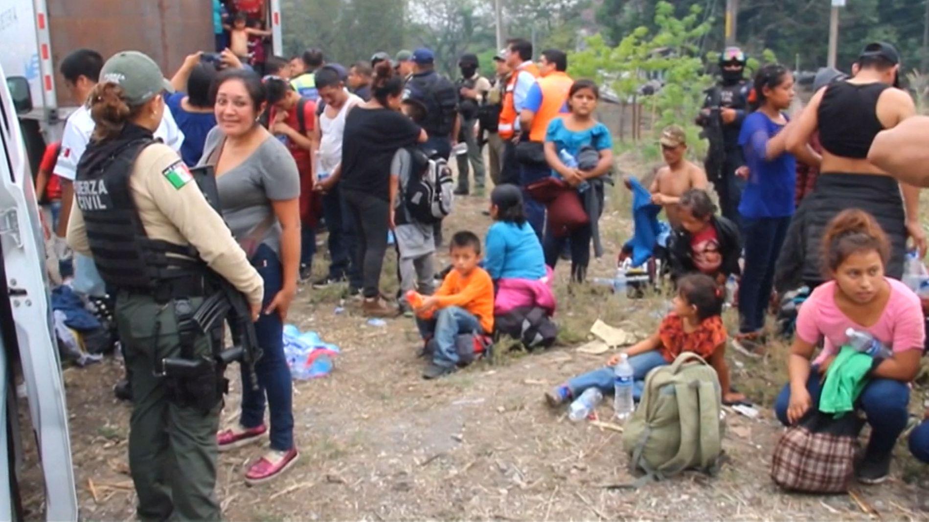 USA sichert Grenze zu Mexiko