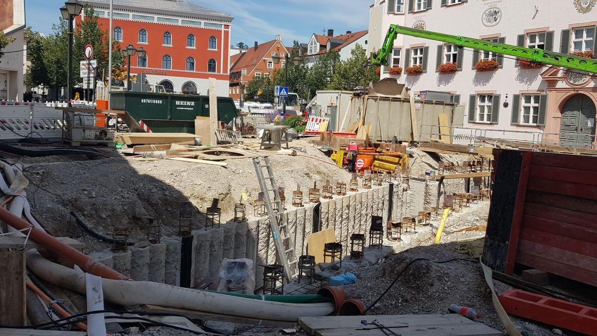 Tunnelbau in Erding