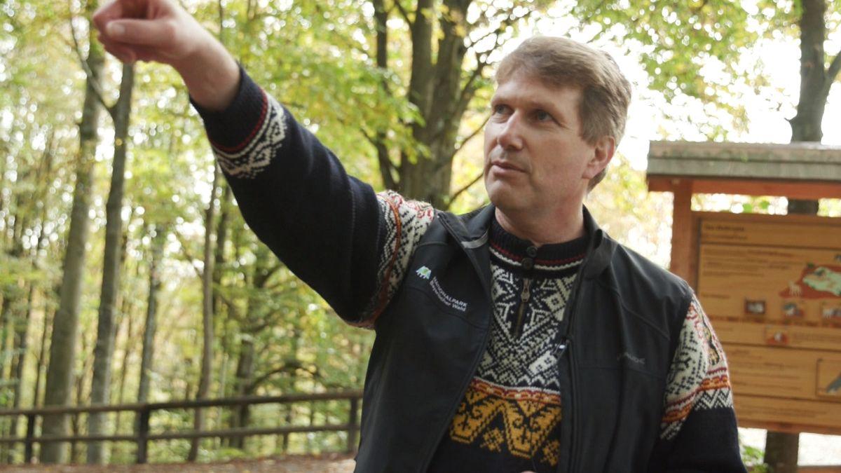 Dr. Marco Heurich, Wildtier- und Waldökologe im Nationalpark Bayerischer Wald