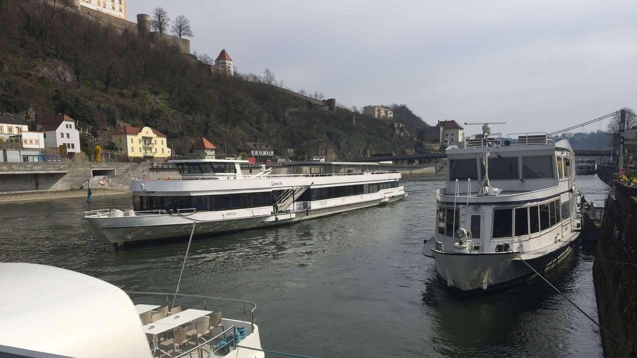 Personenschifffahrt bei Passau