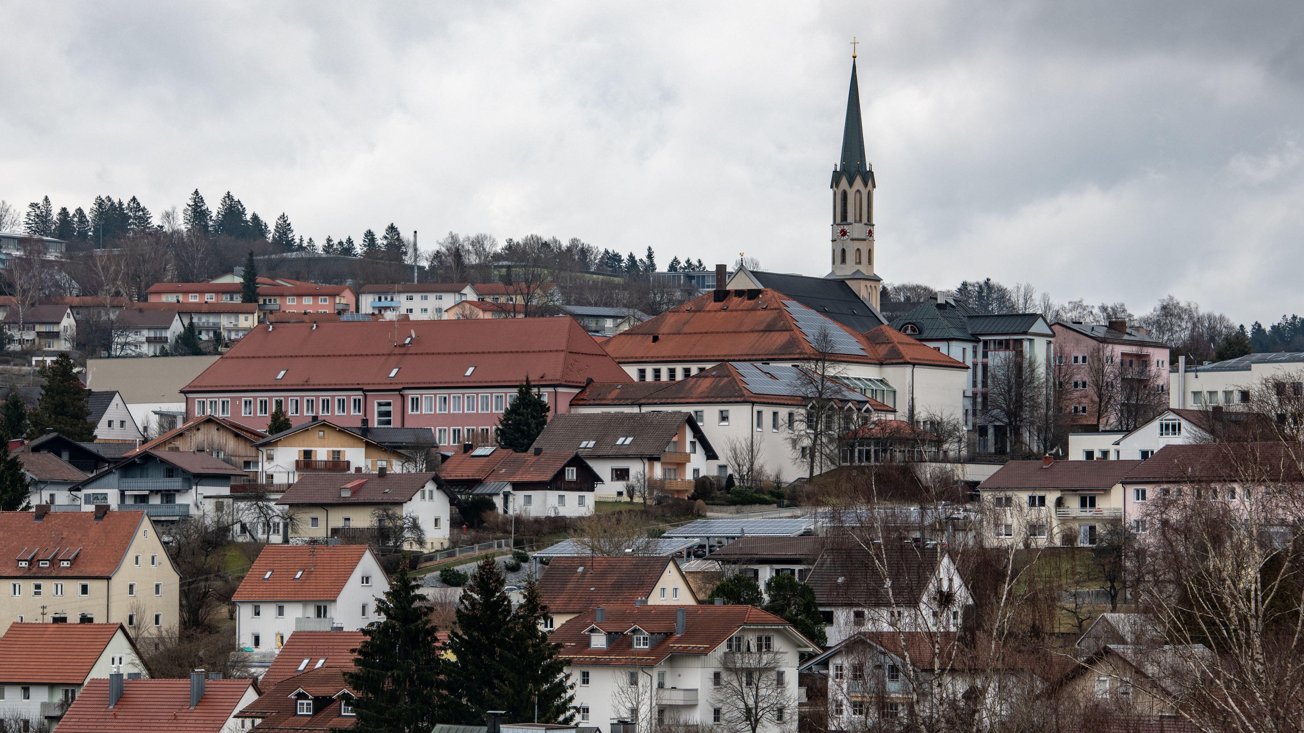 Die Stadt Freyung im Bayerischen Wald