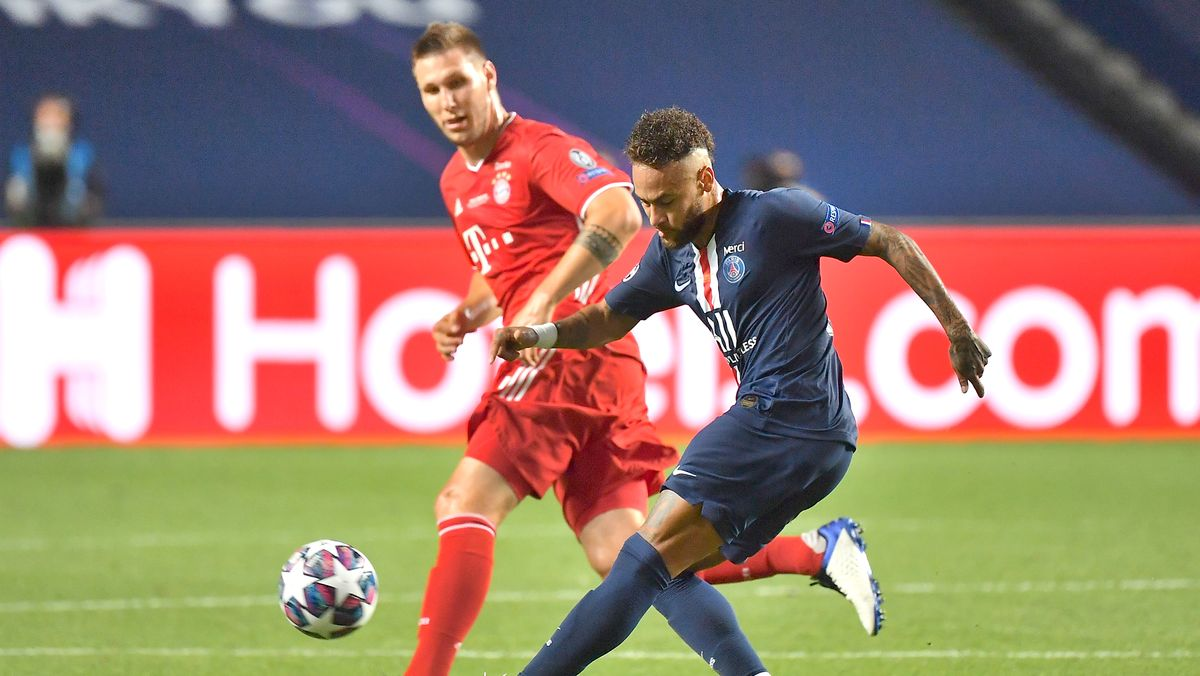Niklas Süle gegen Neymar im Finale der Champions League 2020