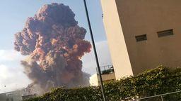Explosion in Beirut   Bild:Reuters