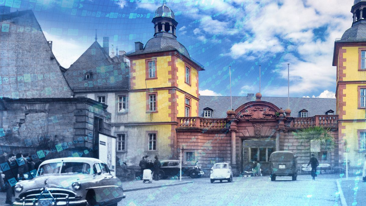"""Plakat """"Stadtarchiv 2.0: Für die Zukunft unserer Vergangenheit"""""""