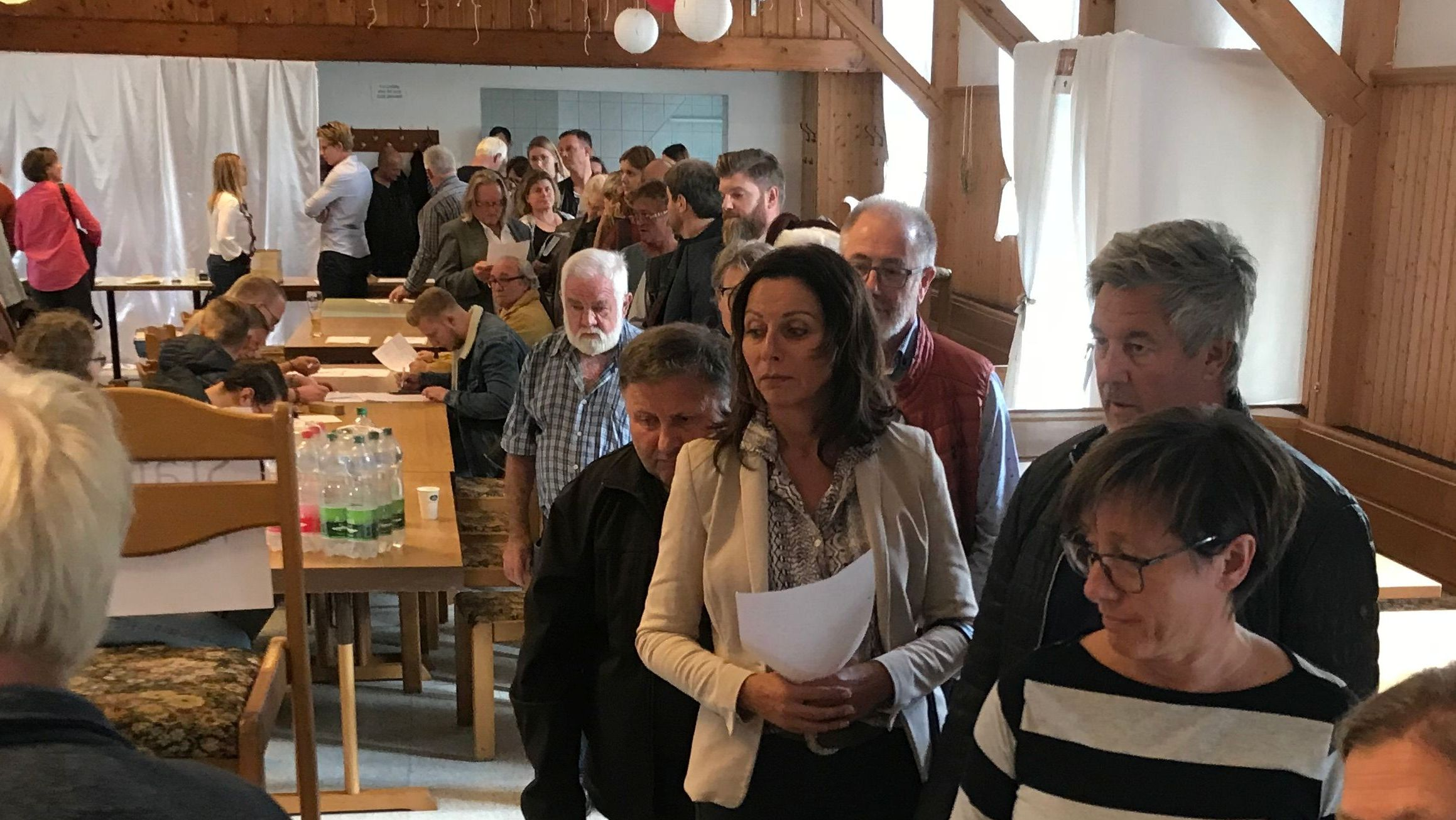 Großer Andrang beim Komparsen-Casting in Haarbach