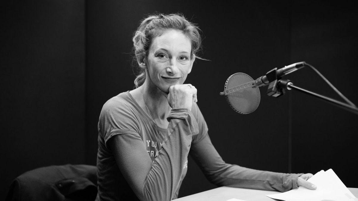 """Die Schauspielerin Wiebke Puls liest """"Die Quellen sprechen"""""""