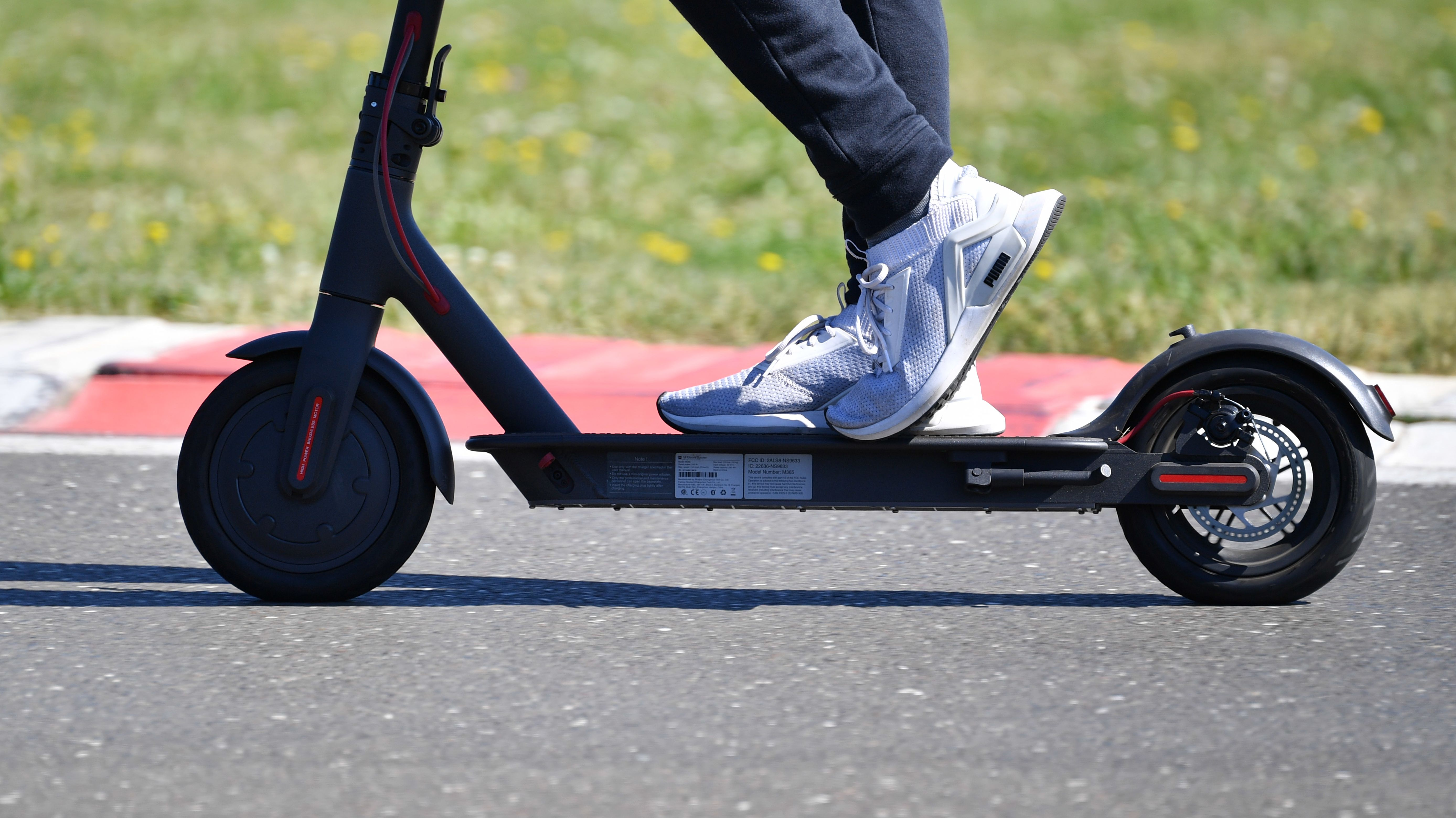 ArchivbIld: E-Scooter auch E-Tretroler genannt