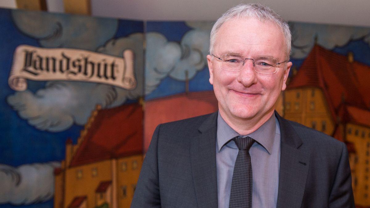 Der Oberbürgermeister von Landshut Alexander Putz