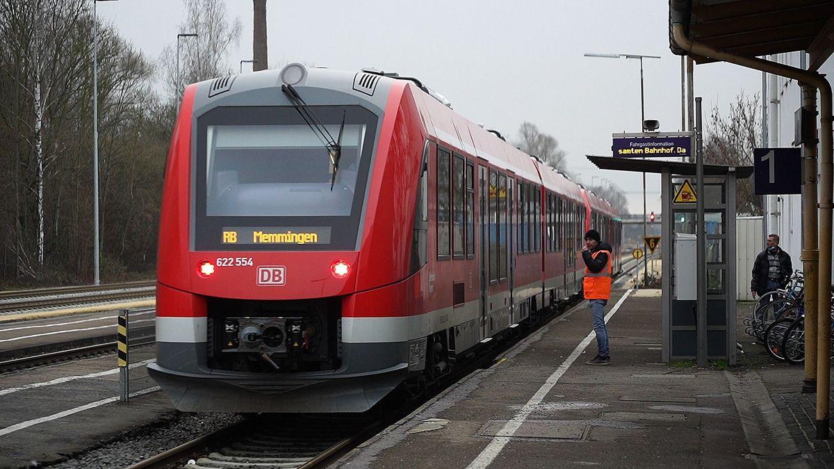 Die Regio-S-Bahn fährt zwischen Ulm und Memmingen im 30-Minuten-Takt.