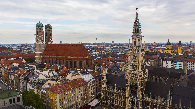 Stadtansicht von München