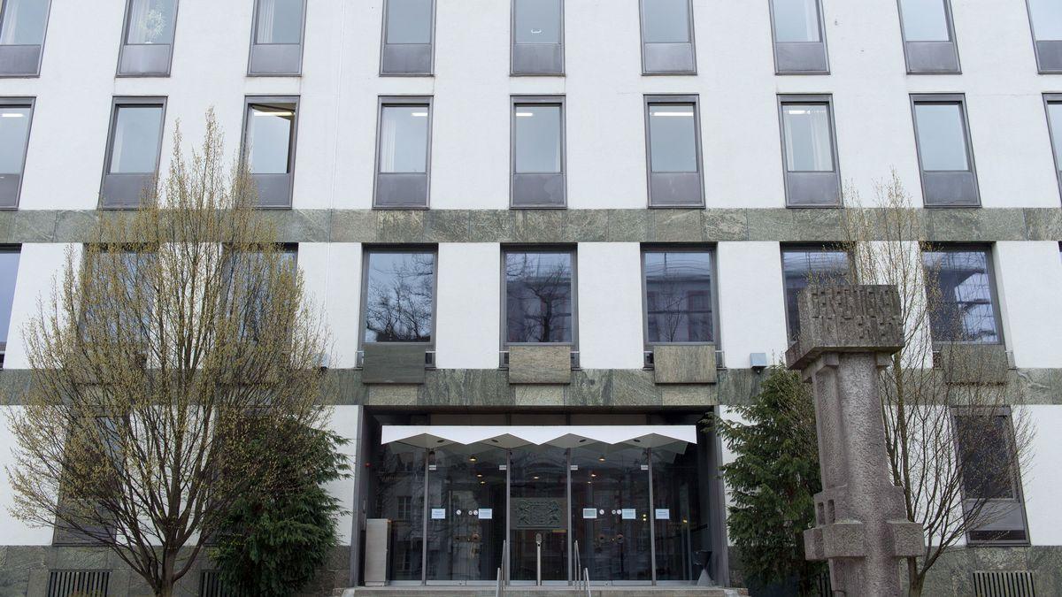 Das Landgericht Weiden von außen