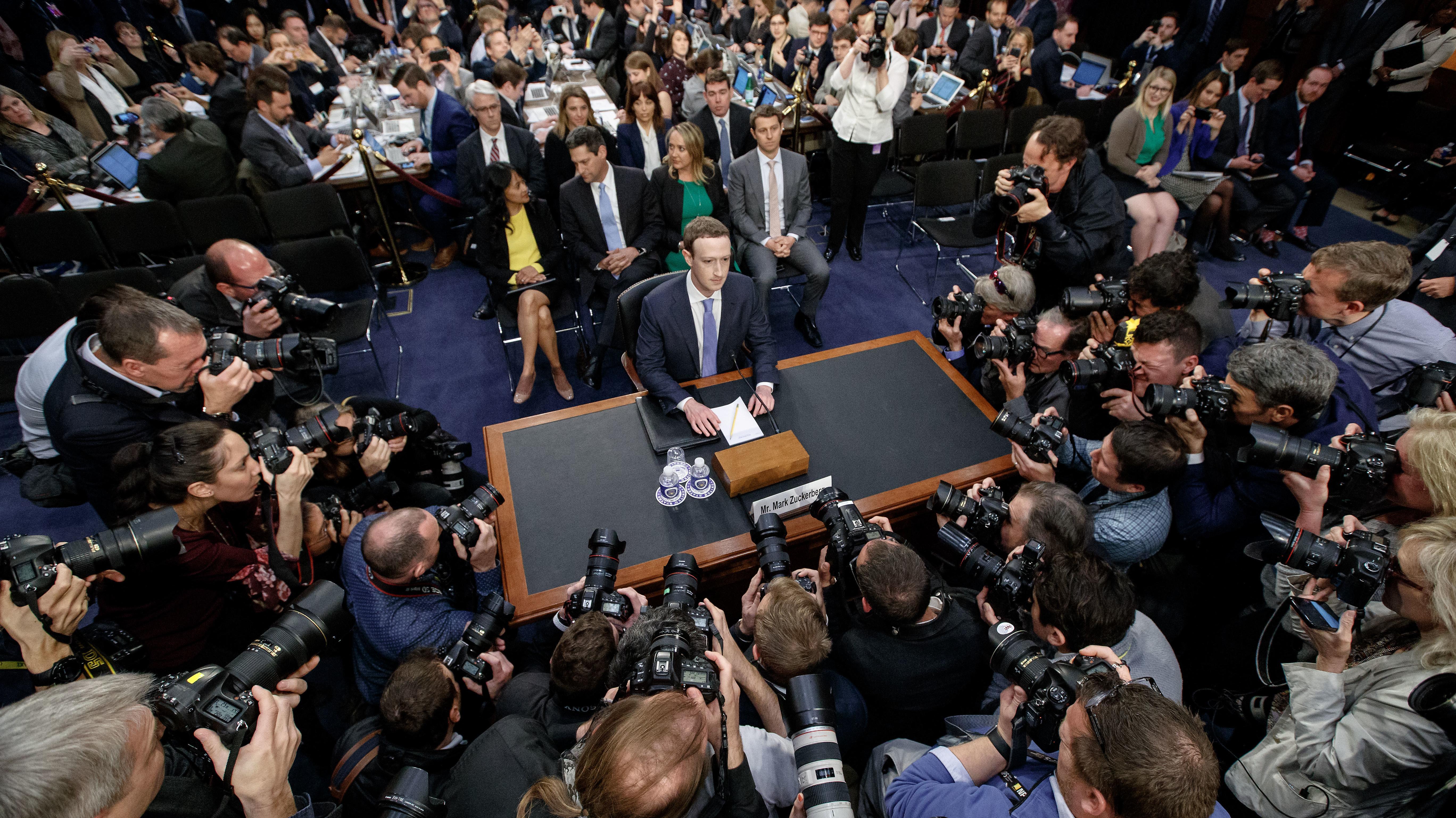 Kein gutes Jahr für Facebook CEO Mark Zuckerberg