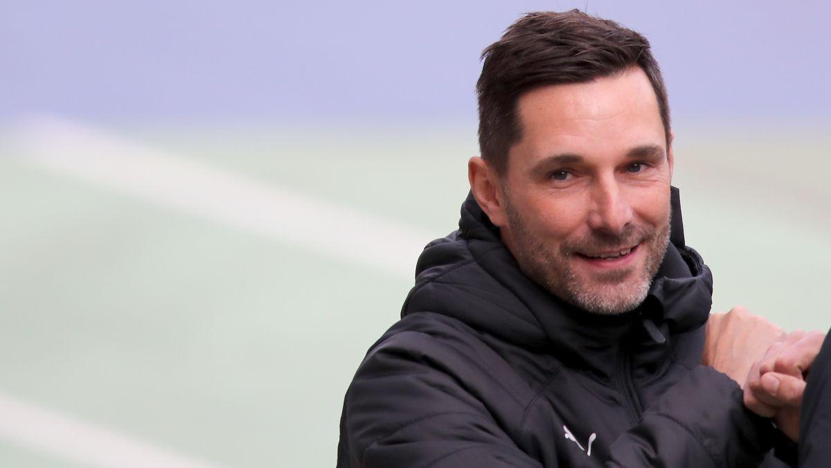 Fürths Trainer Stefan Leitl