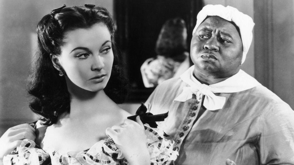 """Hattie McDaniel als Sklavin und """"Gutsherrin"""" Vivien Leigh in """"Vom Winde verweht"""""""
