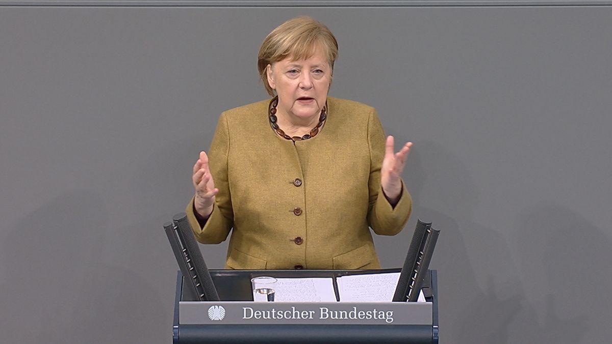 Bundeskanzlerin Angela Merkel hat im Bundestag eine Regierungserklärung zu den Corona-Beschlüssen abgegeben.