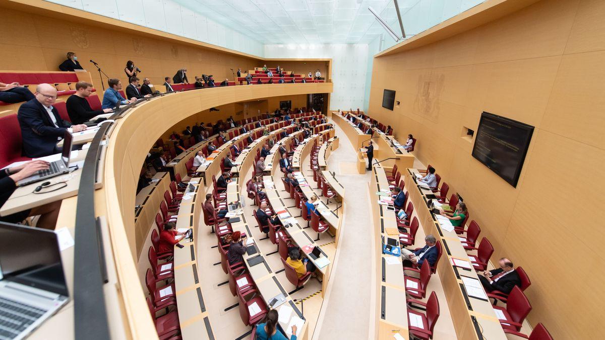 Sitzung im Bayerischen Landtag (Symbolbild)