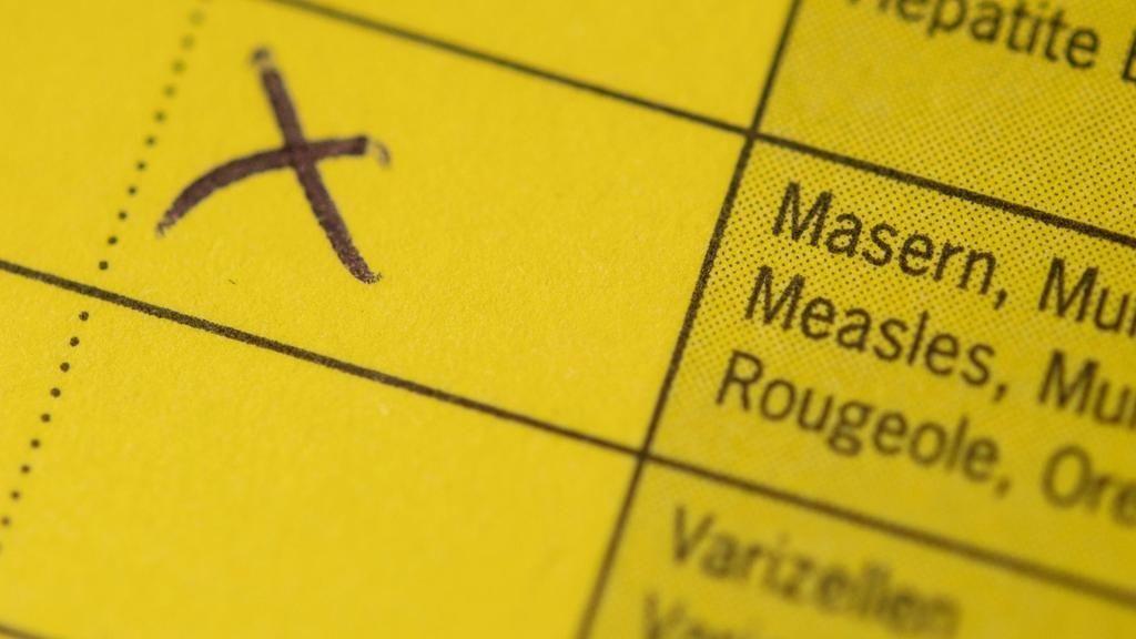 Impfbuch zu Impfung gegen Masern