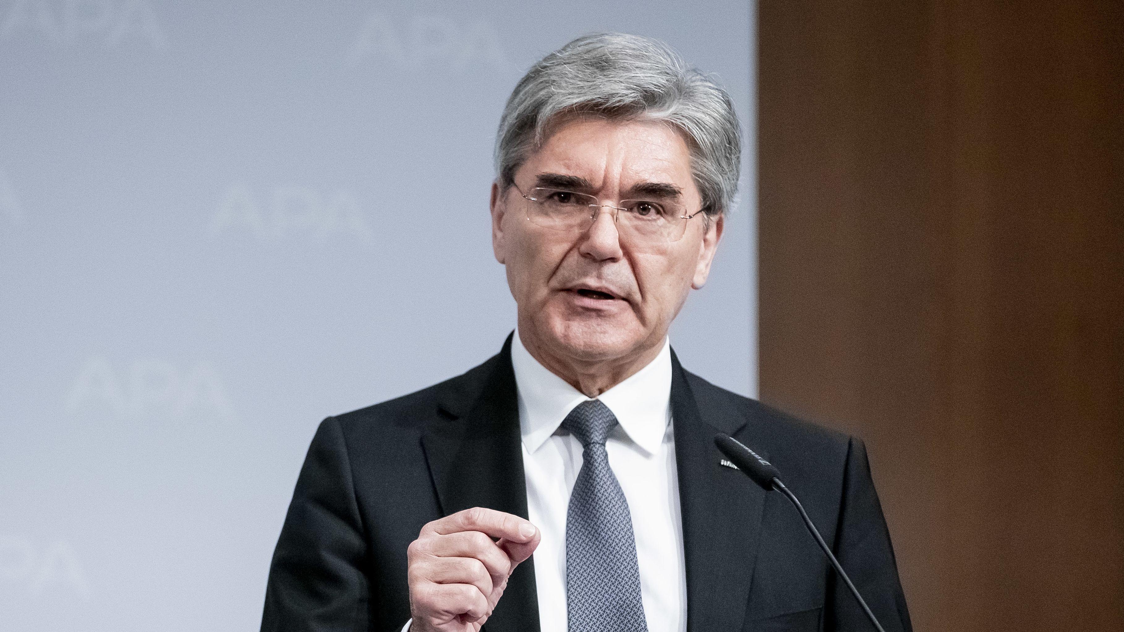 Joe Kaeser, 1. Vorstandsvorsitzender Siemens