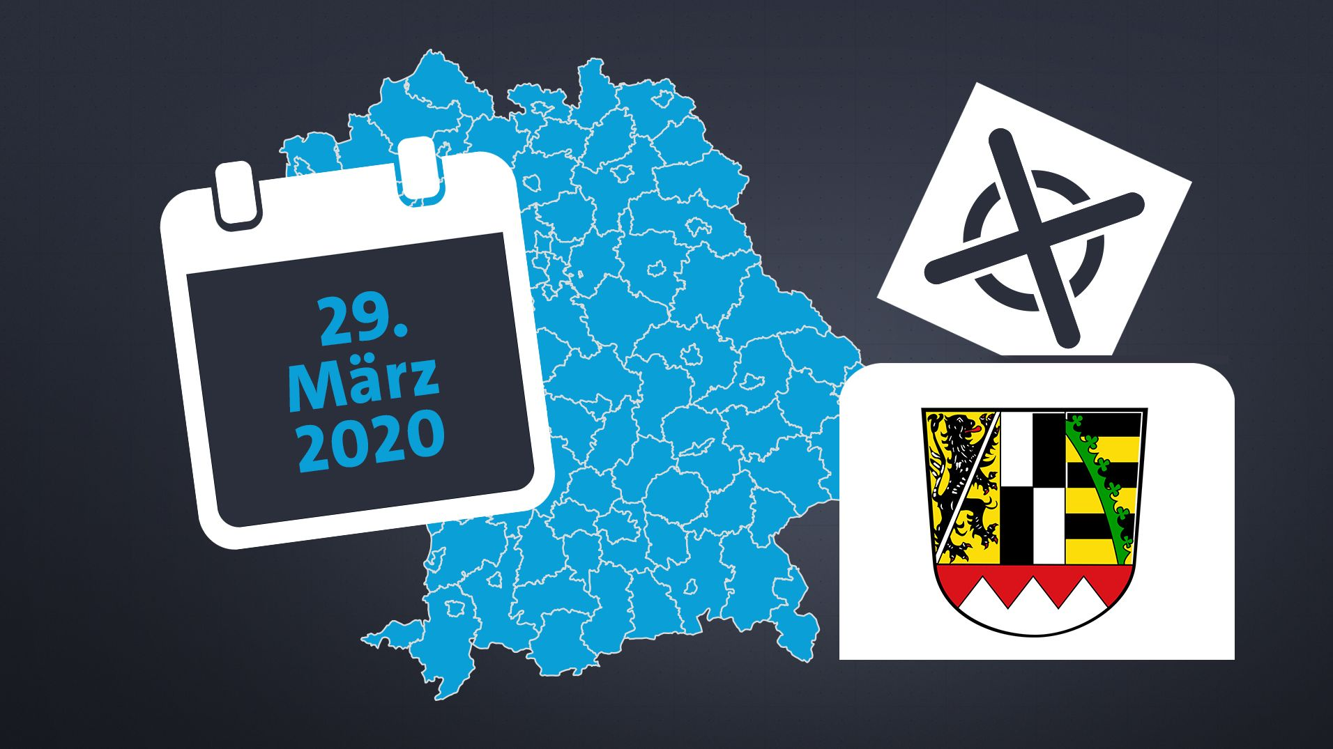 In sieben großen oberfränkischen Städten und in zwei Landkreisen kommt es zur Stichwahl.