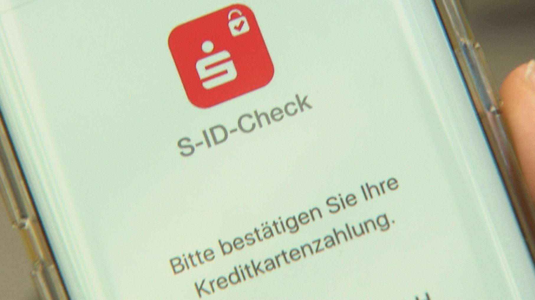 Identifizierungsapp der Sparkasse für den S-ID-Check