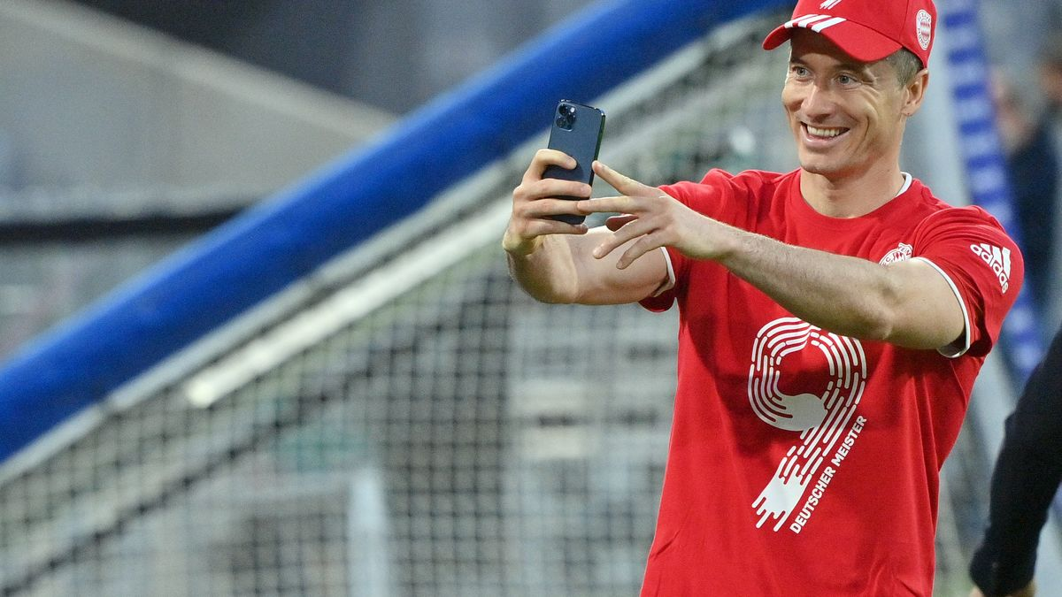 Robert  Lewandowski fehlt noch ein Tor  zum Gerd-Müller-Rekord