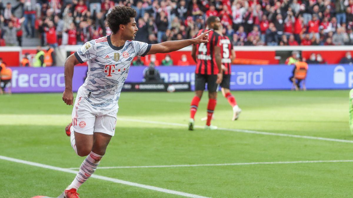 Serge Gnabry vom FC Bayern traf in Leverkusen doppelt