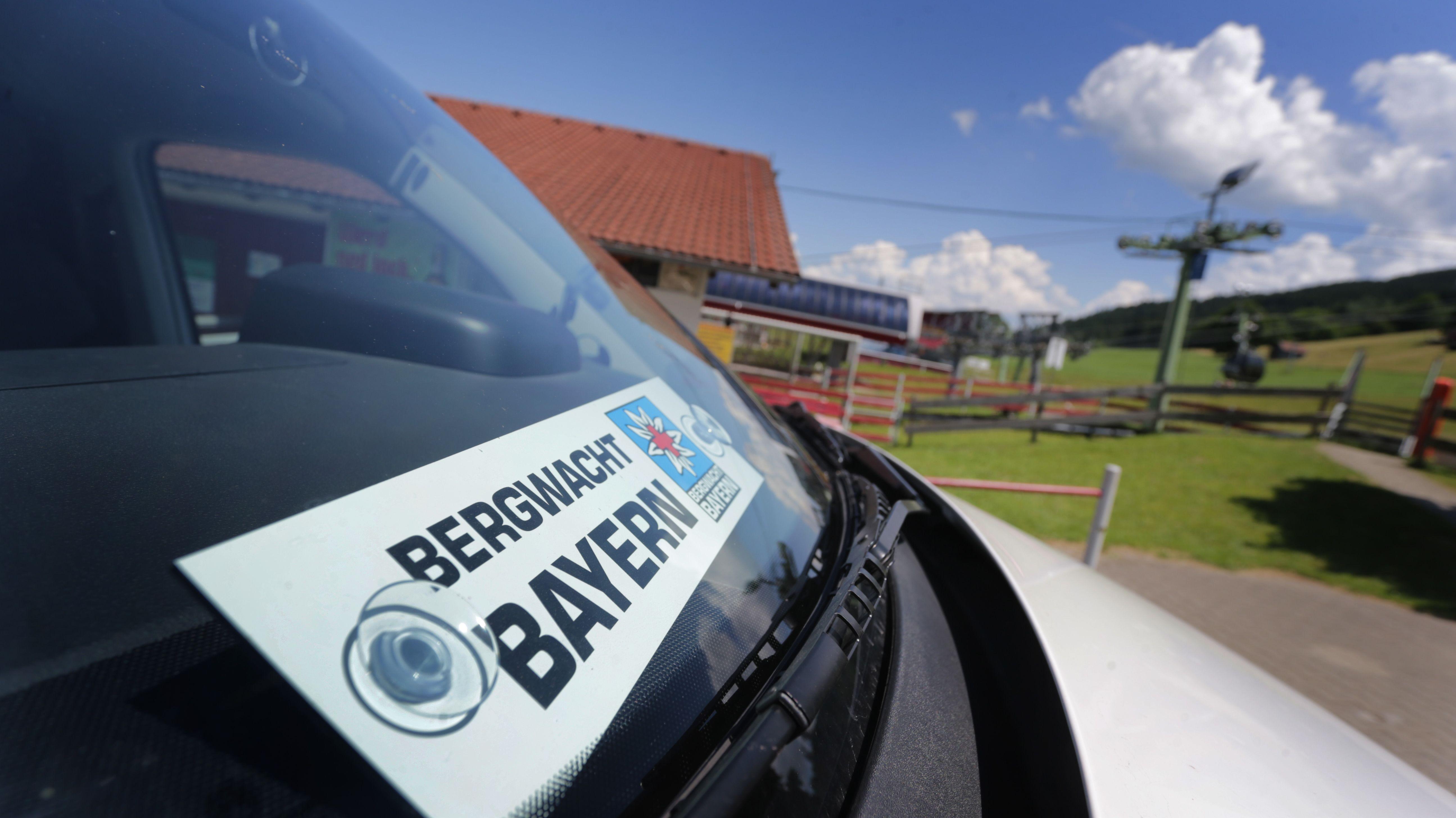 Einsatzfahrzeug der Bergwacht Bayern