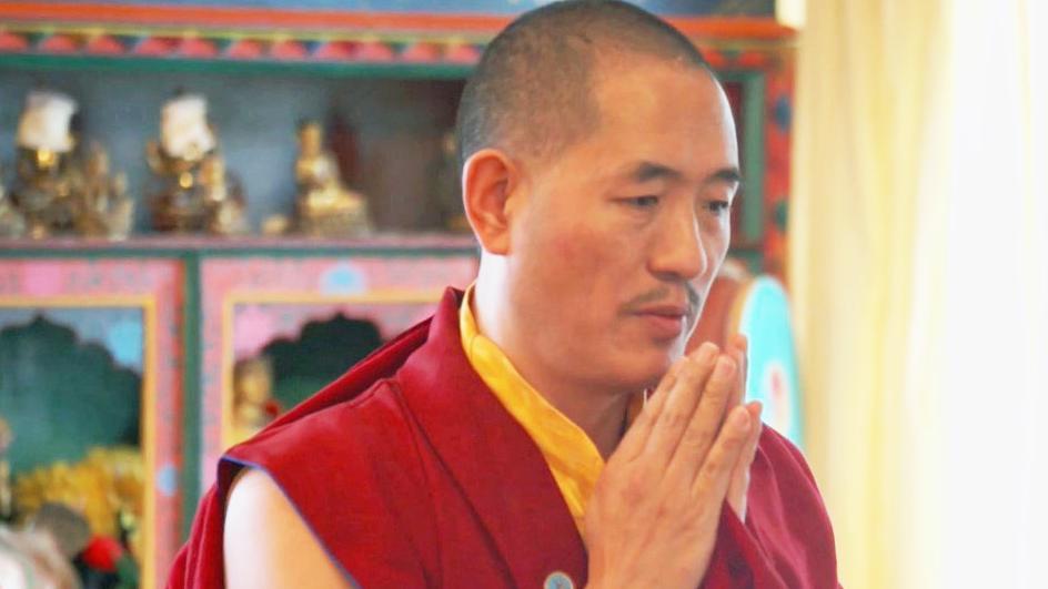 Drubpon Tsering Rinpoche vom Drikung Garchen Institut e.V. in München