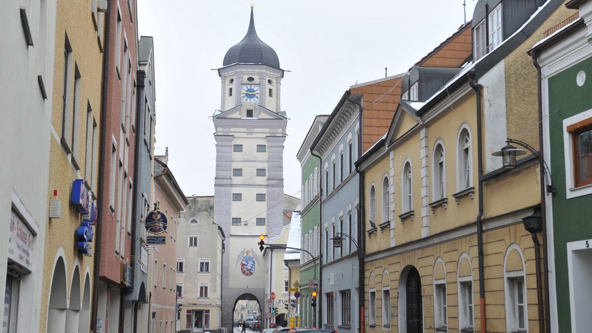 Der Stadtturm von Vilshofen